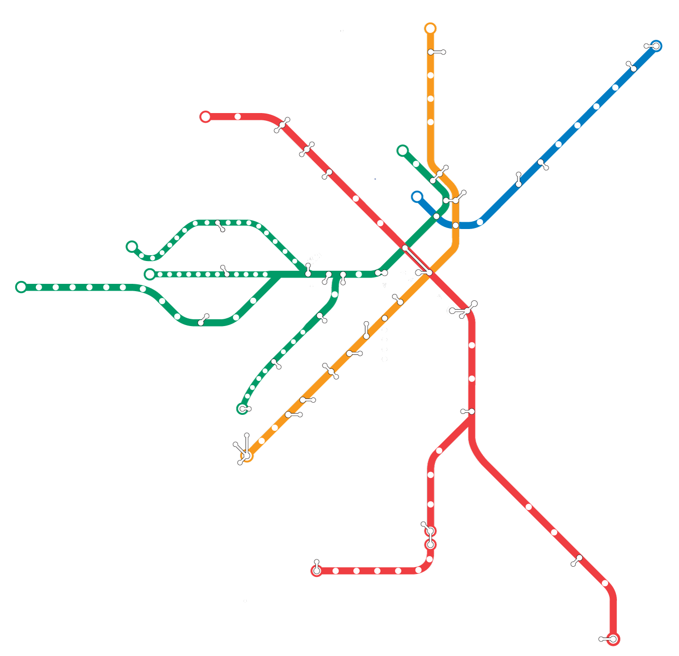 Quiz Can You Name These Cities Just By Looking At Their Subway Maps